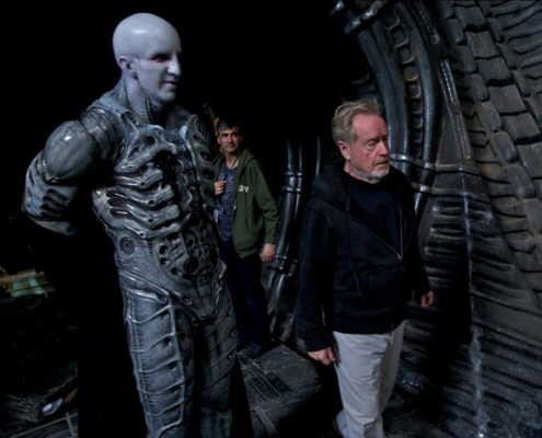 Ridley Scott & Engineer